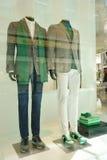 Magasin de Zzegna de vêtements d'homme Allemagne Image stock