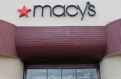 MAGASIN DU ` S DE MACY DANS LE MAIL IDAHO DE LEWISTON images libres de droits