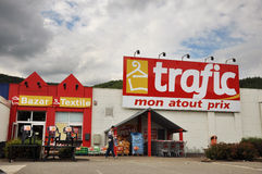 Magasin du trafic Image stock