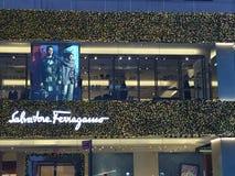 Magasin emblématique de Salvatore Ferragamo à New York Image libre de droits