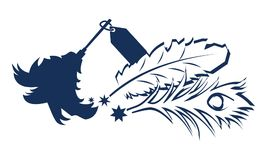 Magasin superbe de plume épousseté par Australien illustration de vecteur