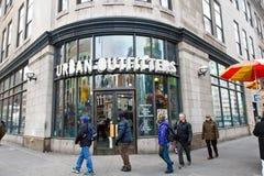 Magasin urbain de fournisseurs photo libre de droits