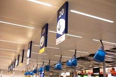 Magasins de Chengdu IKEA dans le caissier Images stock