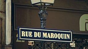 Magasins historiques de route de Strasbourg clips vidéos