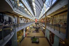 MagaStore, centre commercial, la Haye Images libres de droits