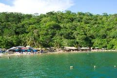 Magay baai-Huatulco Mexico Royalty-vrije Stock Afbeeldingen
