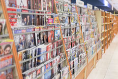 Magazine. Row and variety of magazine at the store. Photo was taken on 22 September 2012 Stock Images