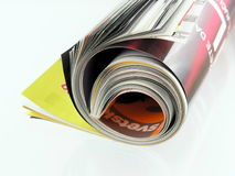 Magazine Stock Image