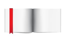 Magazine blank page template for design layout Royalty Free Stock Photos