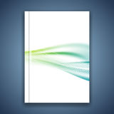 Magazine cover brochure design background Royalty Free Stock Photos
