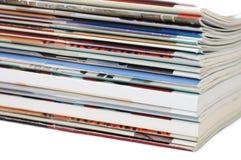 Magazine isolated Royalty Free Stock Images