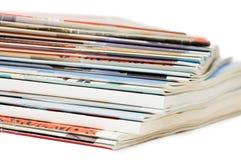 Magazine isolated on white background Stock Photography