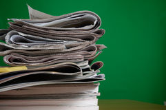 Magazine and Newspaper Royalty Free Stock Photo