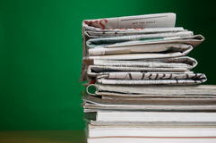 Magazine and Newspaper Royalty Free Stock Photos