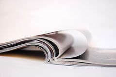 Magazine pages Royalty Free Stock Photos