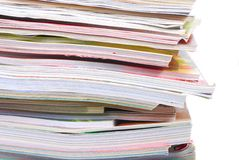 Magazine Pile Stock Images