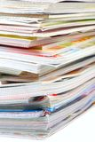 Magazine Pile Royalty Free Stock Photos