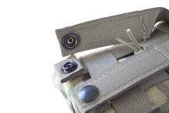Magazine pouch clips Stock Image