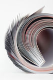 Magazine roll Royalty Free Stock Images