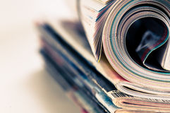 Magazine Roll Stock Photography