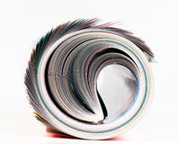 Magazine Roll. Royalty Free Stock Images