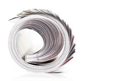 Magazine roll Stock Images