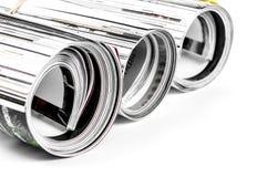 Magazine roll (Macro) royalty free stock images