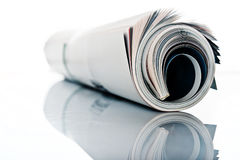 Magazine roll Royalty Free Stock Photography