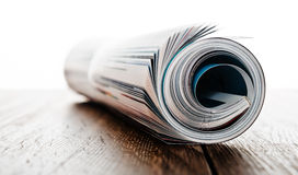 Magazine roll Royalty Free Stock Photo