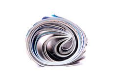 Magazine rolled Royalty Free Stock Images