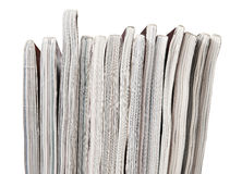 Magazine stack Royalty Free Stock Photo