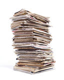 Magazine Stack Stock Image