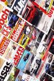 Magazine stand Royalty Free Stock Photo