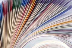 Magazine texture Royalty Free Stock Photography
