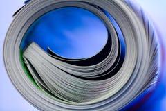 Magazine tube stock images