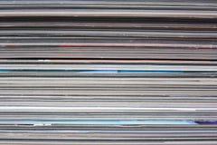 Magazines Stock Image