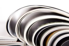 Magazines Royalty Free Stock Photos