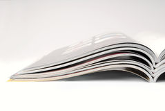 Magazines. Stack of some different magazines Royalty Free Stock Photos