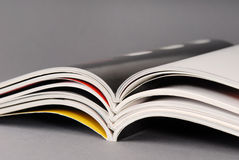 Magazines. Stack of some different magazines Royalty Free Stock Photo