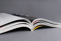 Magazines. Stack of some different magazines Royalty Free Stock Images