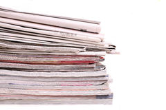 Magazines Stock Image