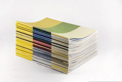 Magazines with blank cover (Path/See also) Stock Image