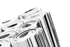 Magazines - close up Royalty Free Stock Image