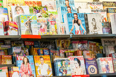Magazines And Newspaper Media Press Royalty Free Stock Photos