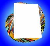 Magazines pile Stock Image