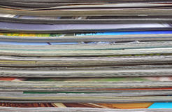 Magazines for recycling Royalty Free Stock Images