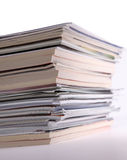 Magazines stack Royalty Free Stock Photo