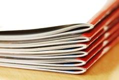 Magazines stack Stock Photo