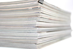 Magazines texture Royalty Free Stock Images