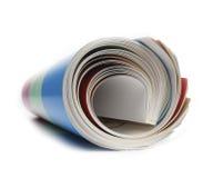 Magazing in einer Rolle Lizenzfreie Stockfotografie